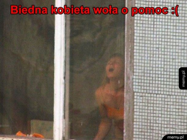 Biedna kobieta