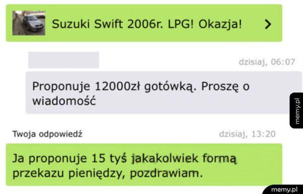 Janusze OLXa