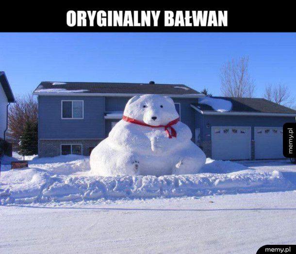 Bałwan-miś