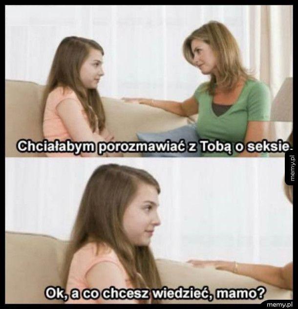 Rozmowa o seksie
