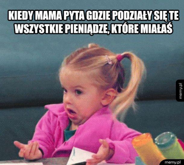 Kiedy mama pyta