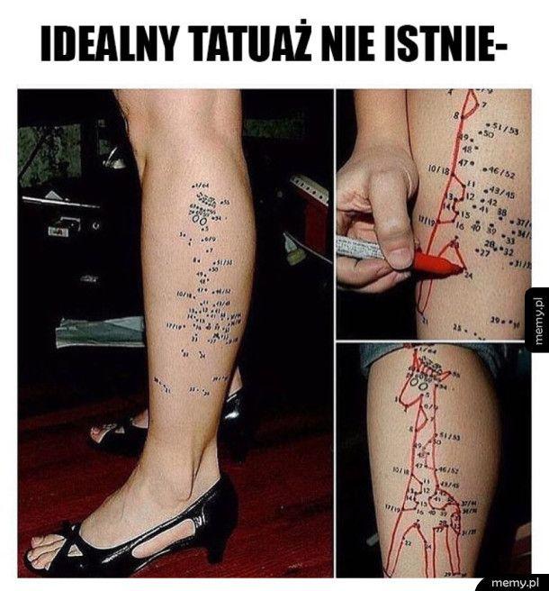 Idealny tatuaż