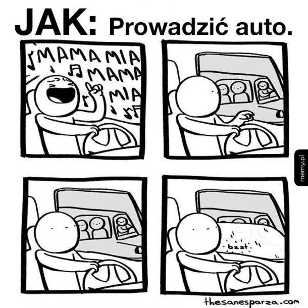 Jak prowadzić auto
