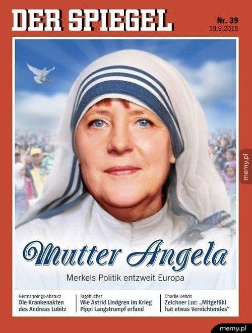 Angela na okładce Der Spiegel