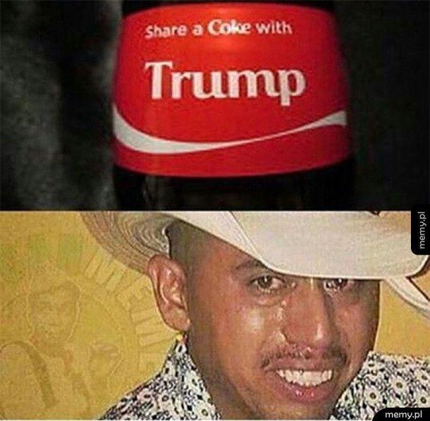 Nie napije się z Trumpem