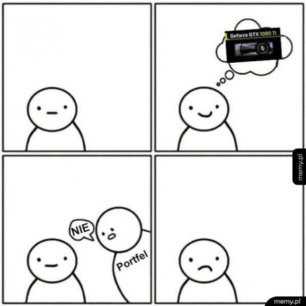 Kiedy portfel mówi nie