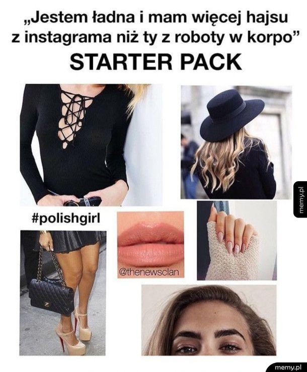 Polish girl pakiet startowy