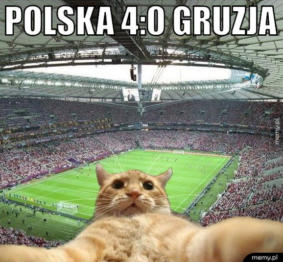 Polska 4:0 Gruzja