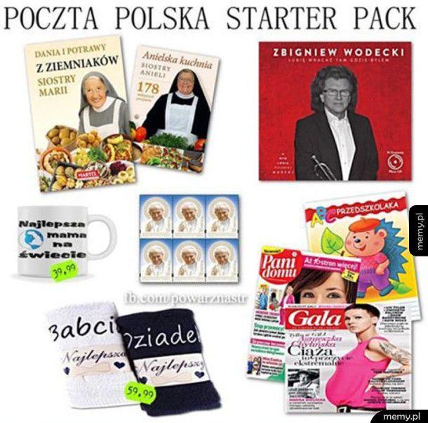 Poczta polska - starter pack