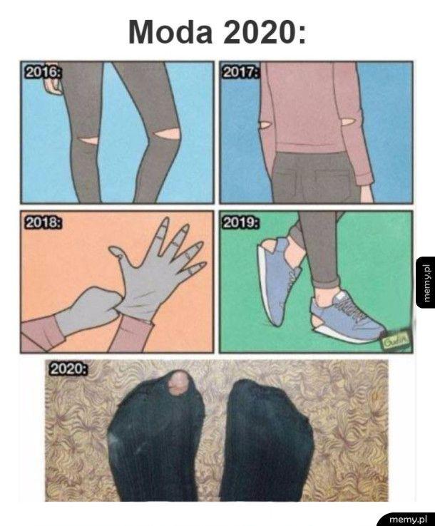 Ewolucja mody