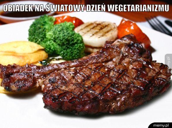 Obiadek na światowy dzień wegetarianizmu