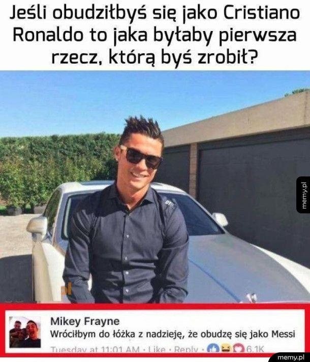 Gdybyś był Ronaldo