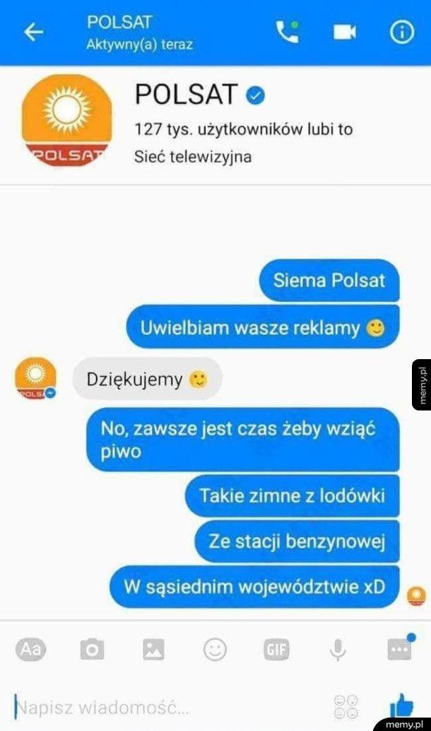 Reklamy na Polsacie