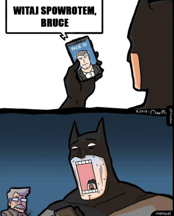 Dlatego batman woli androida