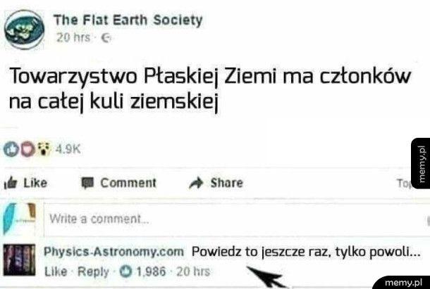 Towarzystwo płaskiej ziemi
