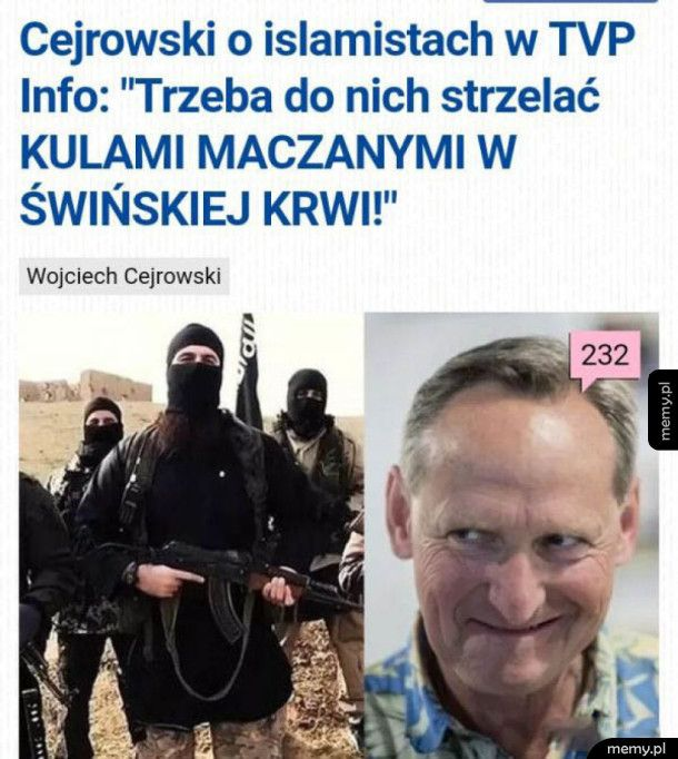 Co ten Cejrowski