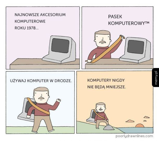 Komputery nigdy nie będą mniejsze
