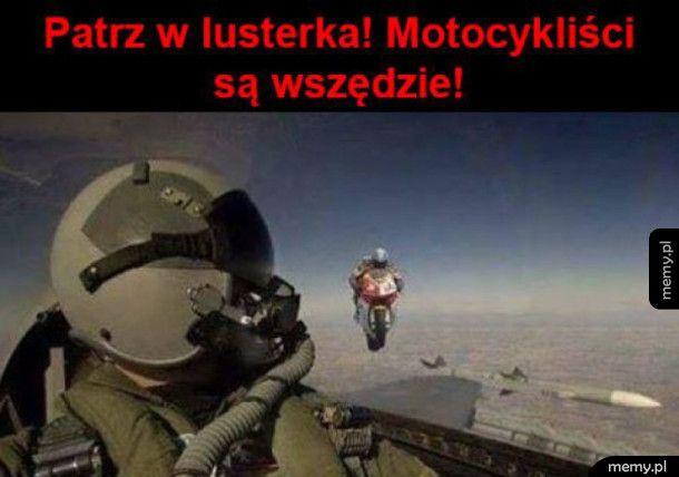 Ah Ci motocykliści