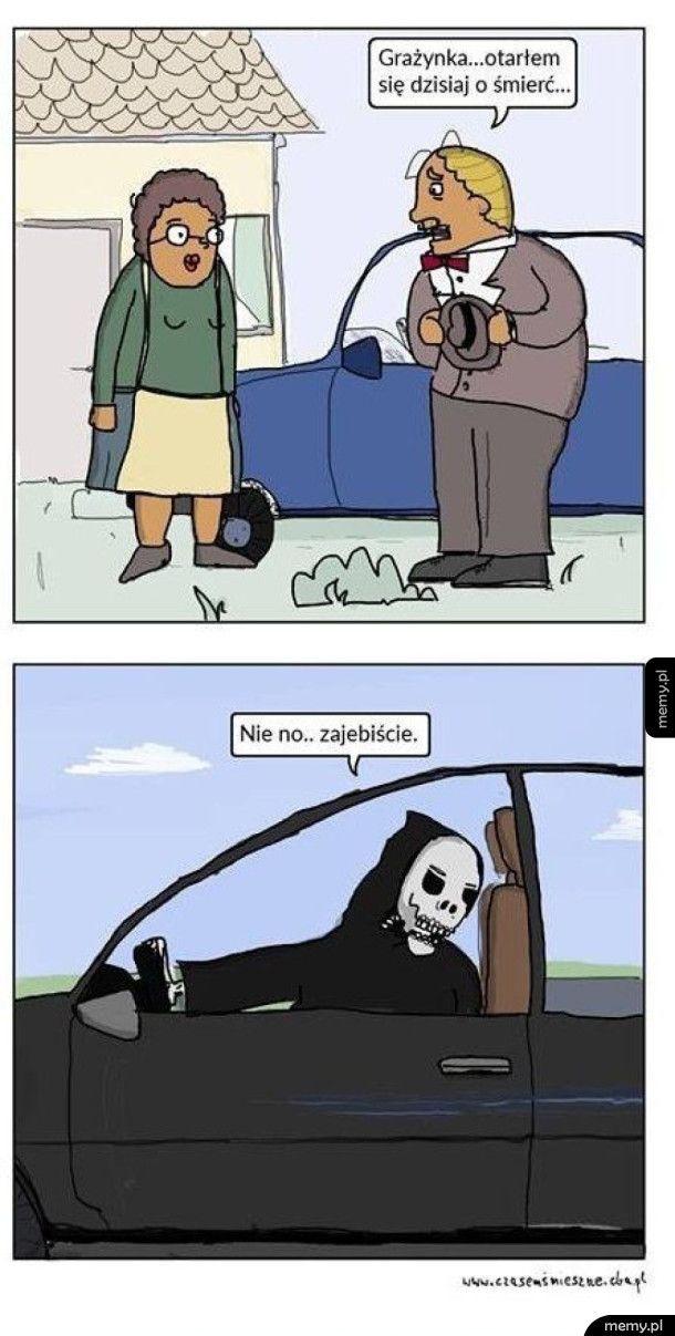 Otarłem się o śmierć