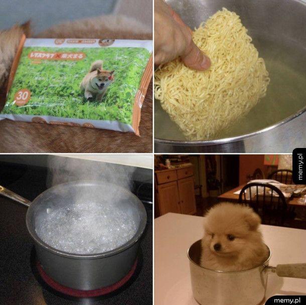 Zupka z piesełka
