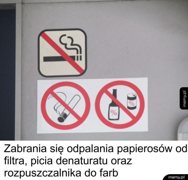 Wiecznie tylko zakazy