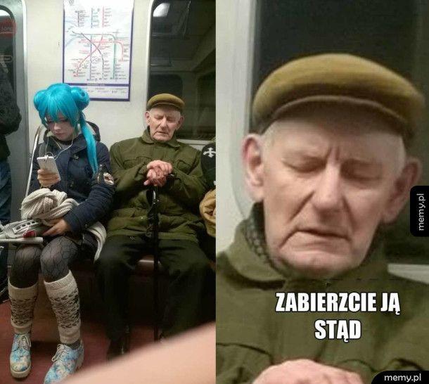 W metrze