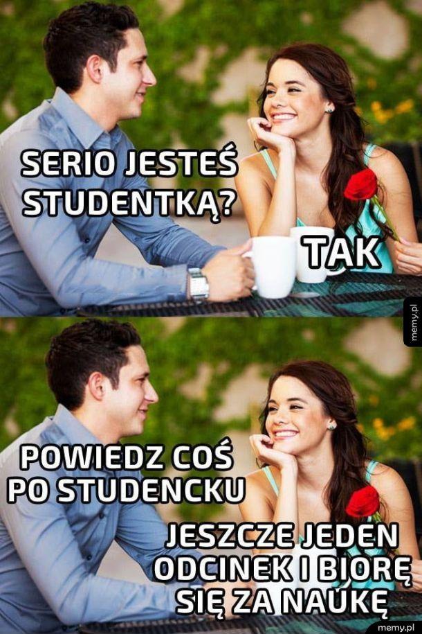 Powiedz coś po studencku