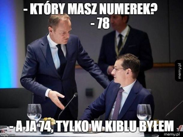 Tusk i Morawiecki