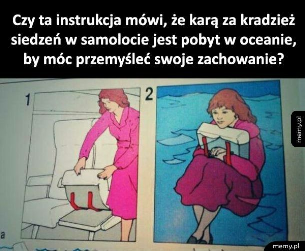 Dziwna instrukcja