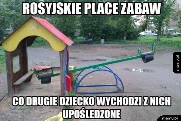 Rosyjski plac zabaw
