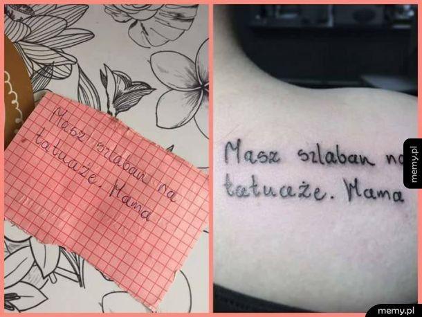 Szlaban na tatuaże