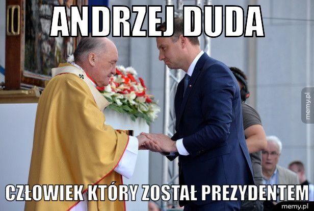 Andrzej Duda człowiek który został prezydentem