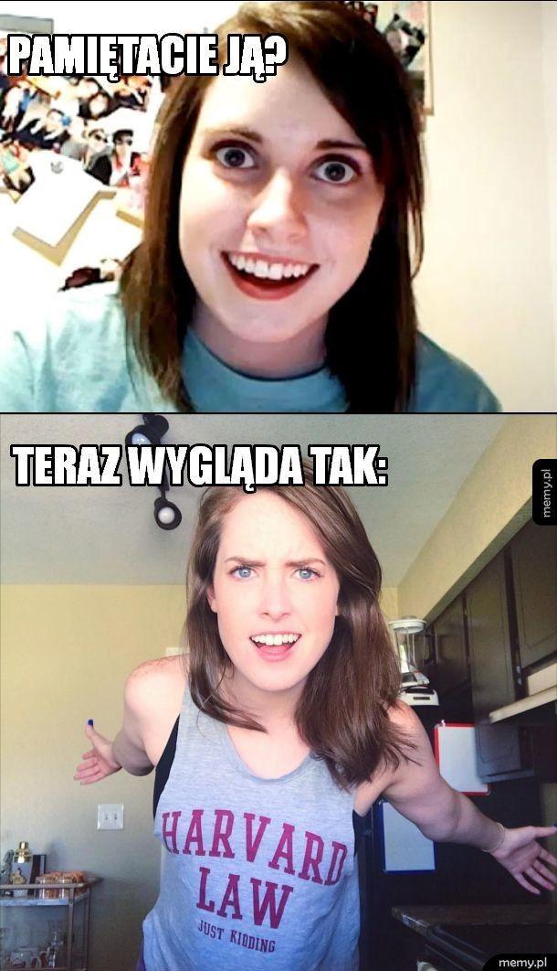 Zazdrosna dziewczyna z memów po latach