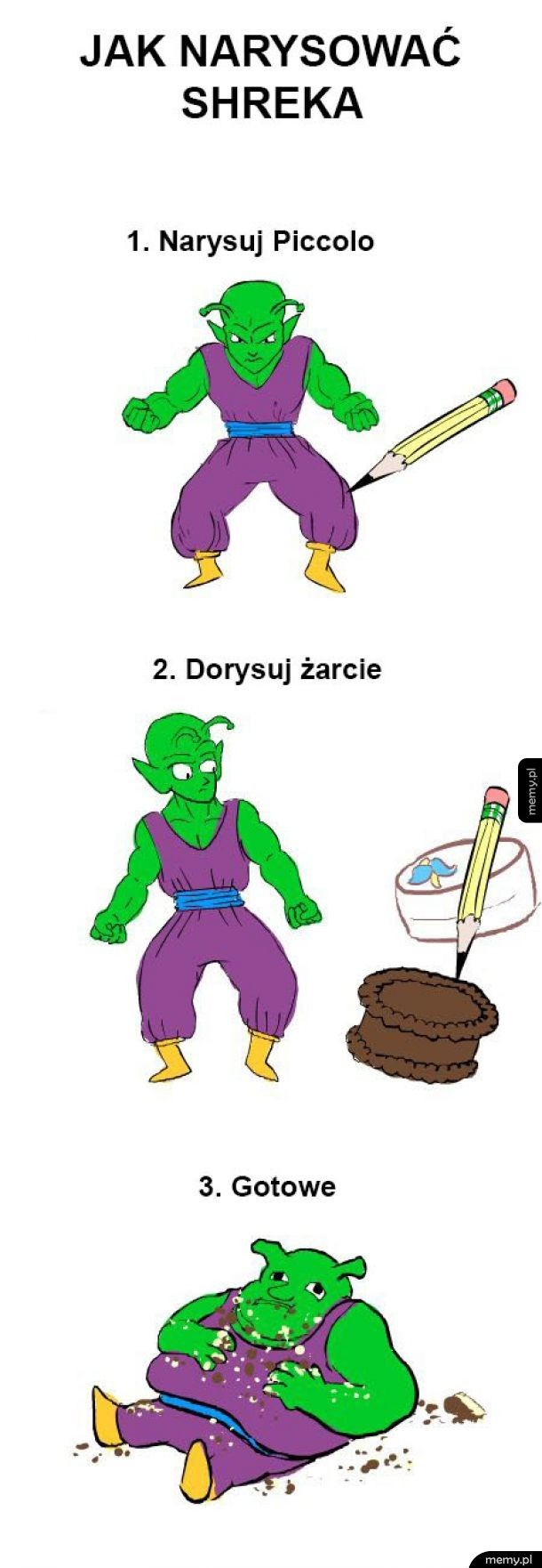 Rysowanie Shreka