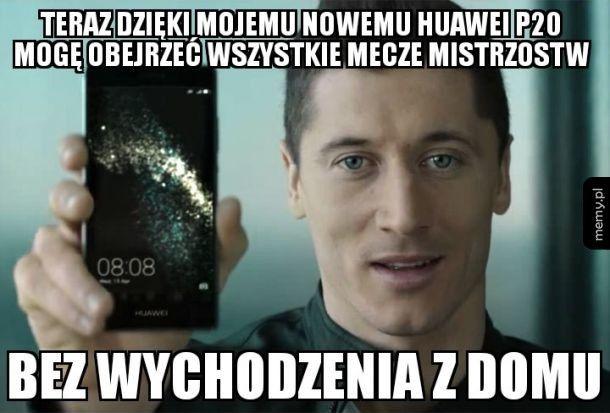 Nowa reklama Huawei