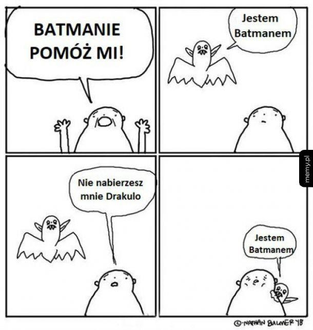 Jestem Batmanem