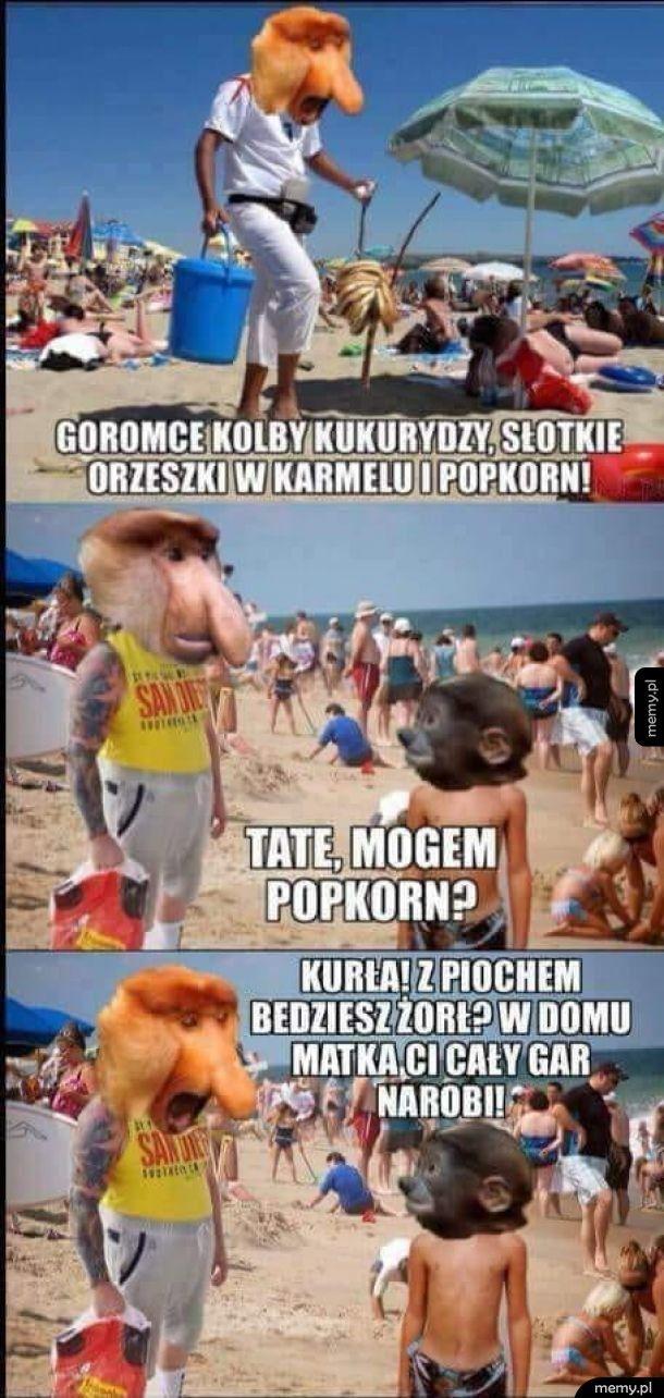 Na wakacjach we Władysławowie