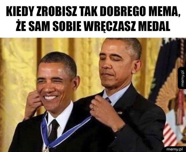 Przyznaję sobie medal
