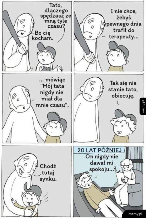 Bycie ojciem nie jest łatwe