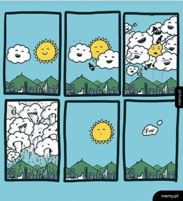 Melanż w niebie