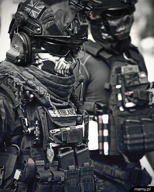 Brytyjscy żołnierze SAS