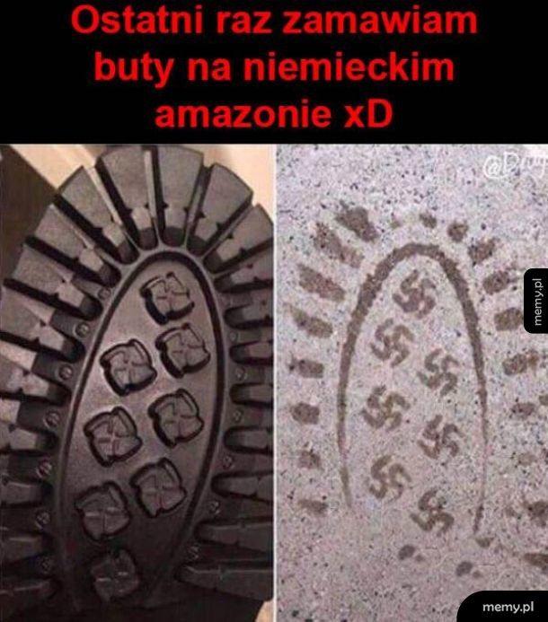 Buty z amazona