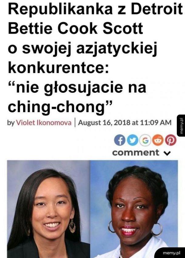 Czarni nie mogą być rasistami