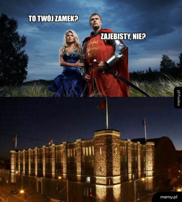 Piękny zamek