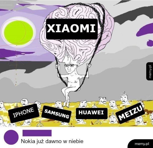 Xiaomi lepsze