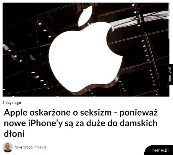 Seksistowskie Apple