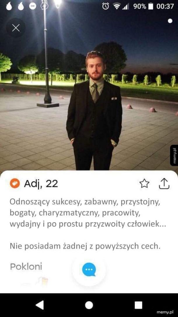 Szczery profil