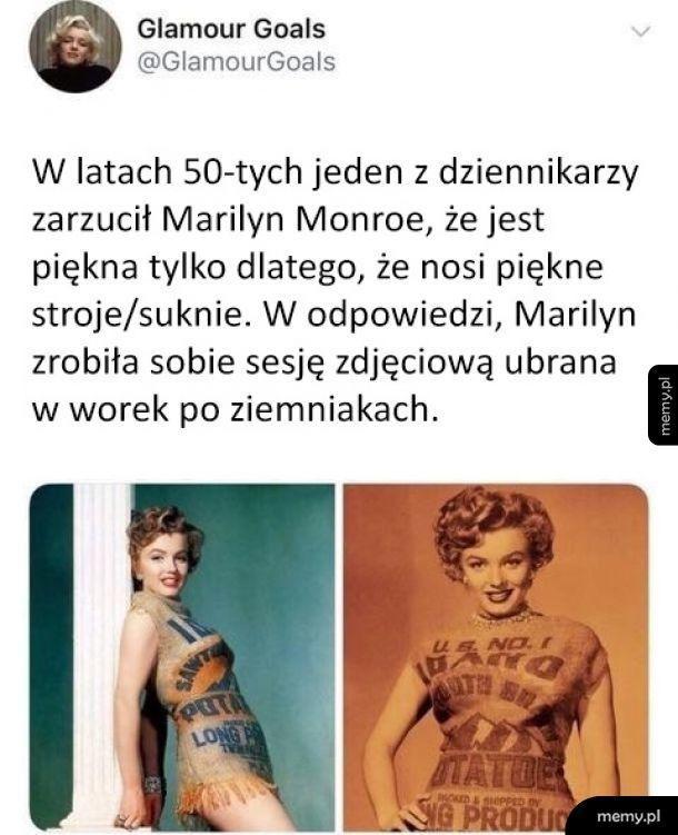 Marilyn zaorała krytyka