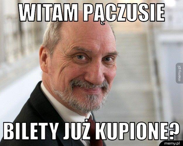 Macierewicz ministrem obrony narodowej