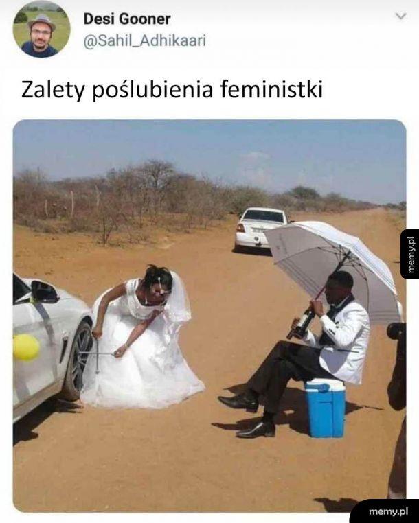 Żona feministka